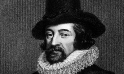 A Black and White Picture of Francis Bacon