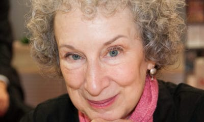 A Smiling Picture of Margaret Atwood