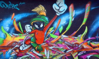 Marvin the Martian Graffiti