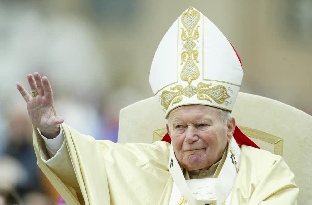 An Image of Pope John Paul II