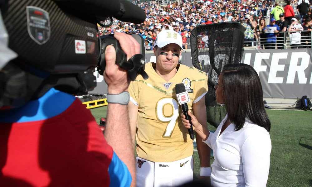 Read more about the article 50 Inspirational Drew Brees Quotes on New Orleans & Football [2021]