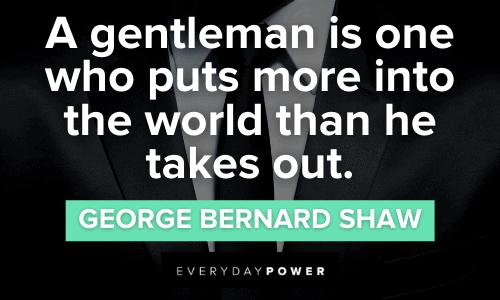 Classy Gentleman Quotes