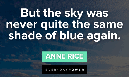 blue quotes and sayings