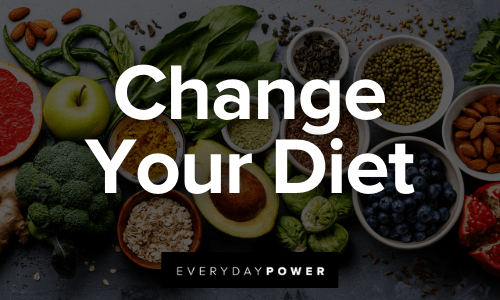 Reinvent Yourself by changing your diet