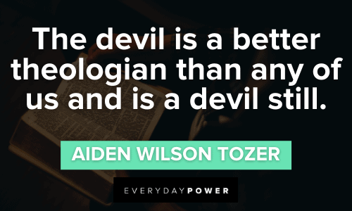 Devil Quotes about theology