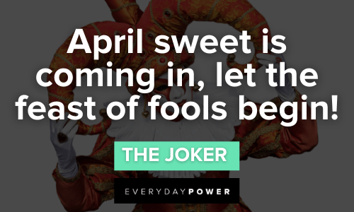 Joker quotes about feast of fools