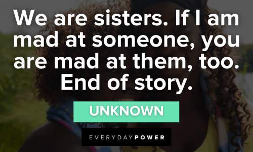Funny Sister Quotes to inspire you