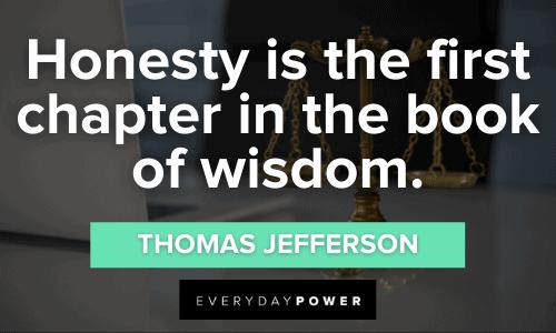 wise Honesty Quotes
