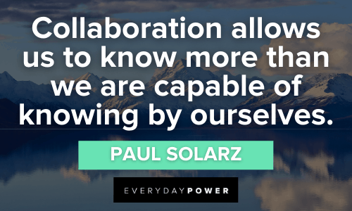 thoughtful Collaboration Quotes
