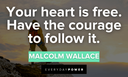 Braveheart Quotes about heart