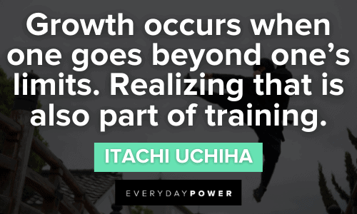 Naruto Quotes about growth