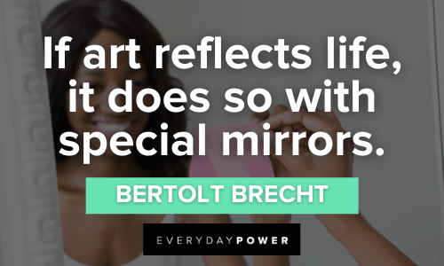 Mirror Quotes about art