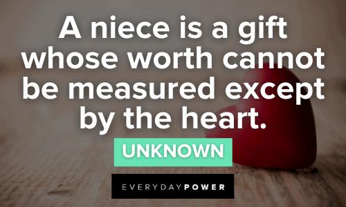 heartfelt Niece Quotes