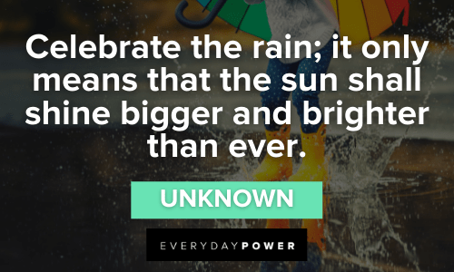 Rain Quotes to Lift Your Spirits