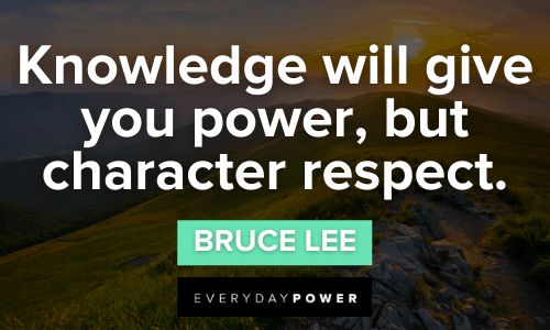 Respect Quotes about knowledge