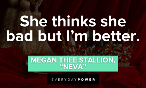 Megan Thee Stallion Quotes to inspire you