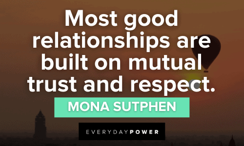Respect Quotes about relationships