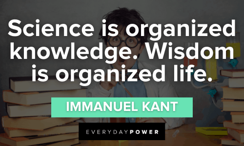 Science Quotes about wisdom