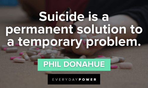 Suicide Quotes to Inspire Prevention
