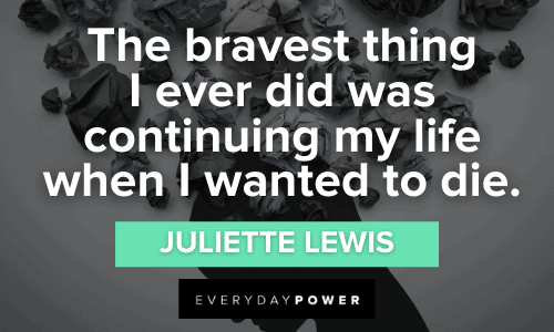 Suicide Quotes to make you brave