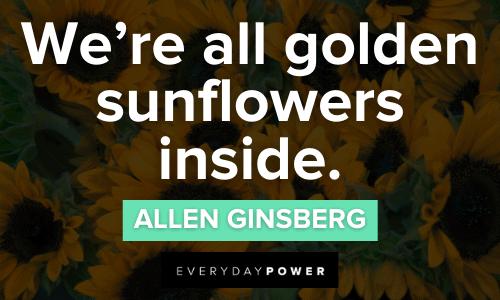 golden Sunflower quotes