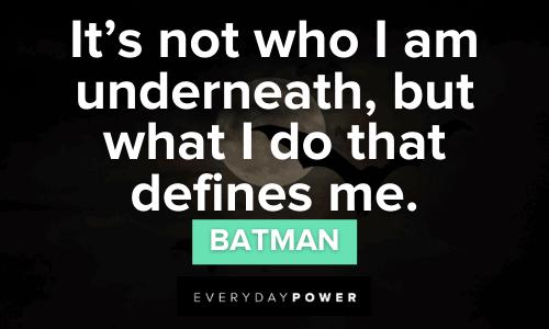 Superhero Quotes by batman