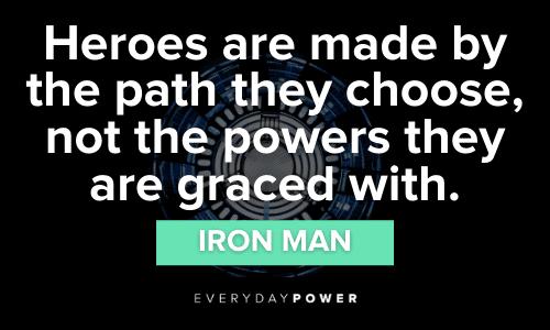 powerful Superhero Quotes