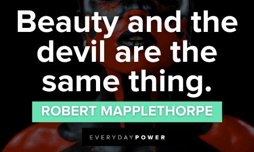 Devil Quotes about beauty