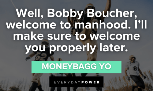 Waterboy Quotes about manhood