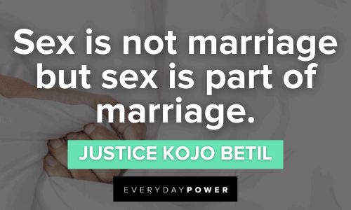 Sex Quotes about marriage