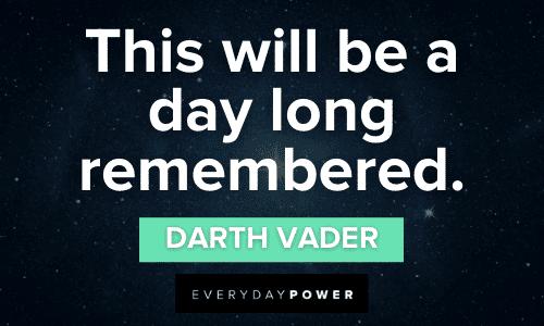 memorable Darth Vader Quotes