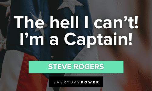 short Captain America Quotes