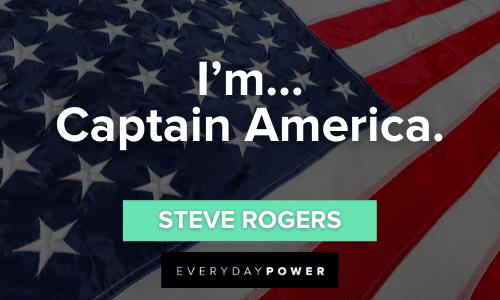 Amazing Captain America Quotes