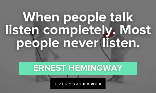 Communication Quotes about listening