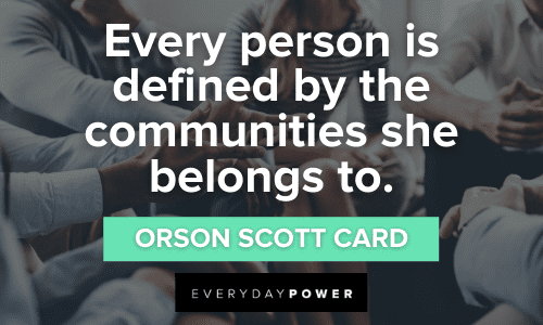 inspirational Community Quotes