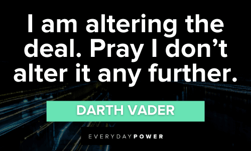 Darth Vader Quotes From the Star Wars Villain