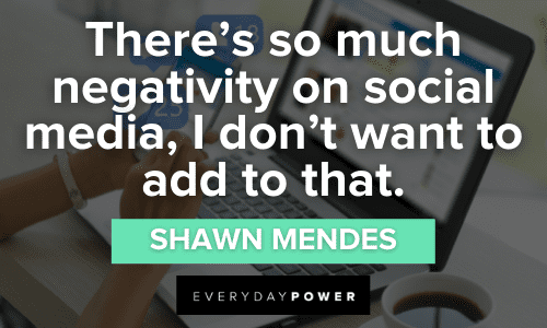 Social Media Quotes about negativity