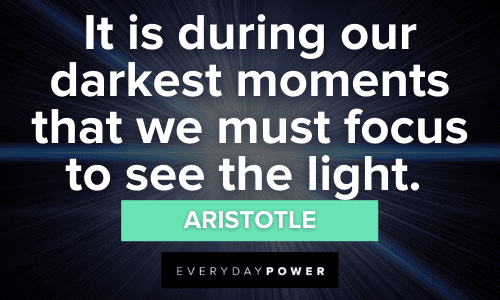powerful Light Quotes
