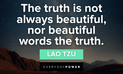 Lao Tzu quotes about truth