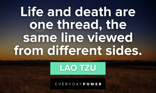 Lao Tzu quotes about life and death