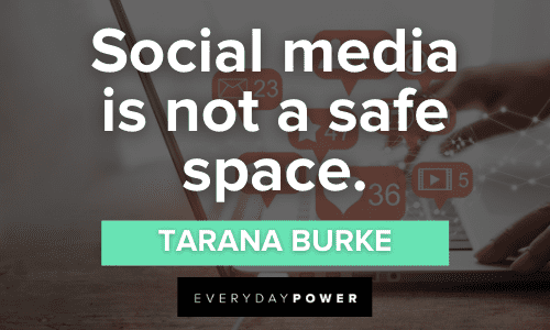 Social Media Quotes about safe space