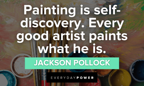 Painting Quotes to Inspire self discovery
