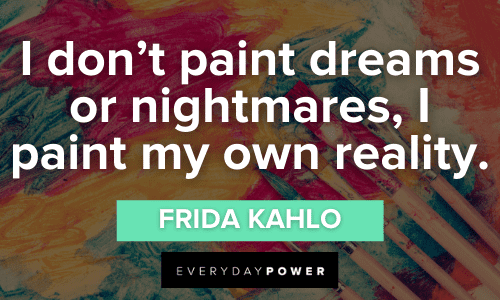 Painting Quotes about reality