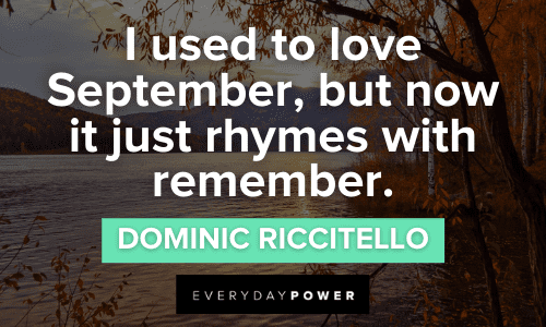 September Quotes about love