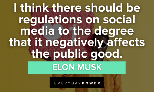 Social Media Quotes about regulations