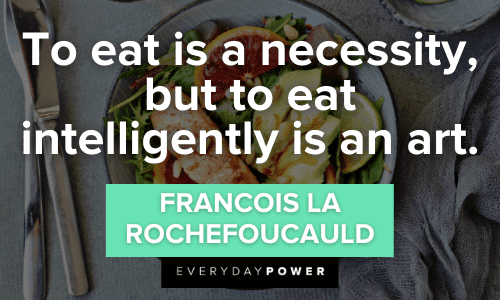 Wellness Quotes about eating