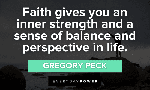 Faith Quotes about inner strength
