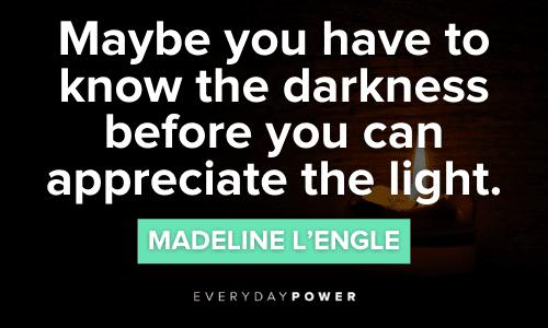 Inspirational Light Quotes