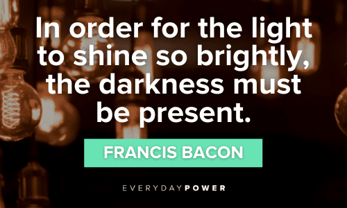 Light Quotes about darkness